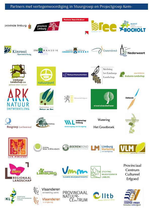 Overzicht partners in Kempen~Broek